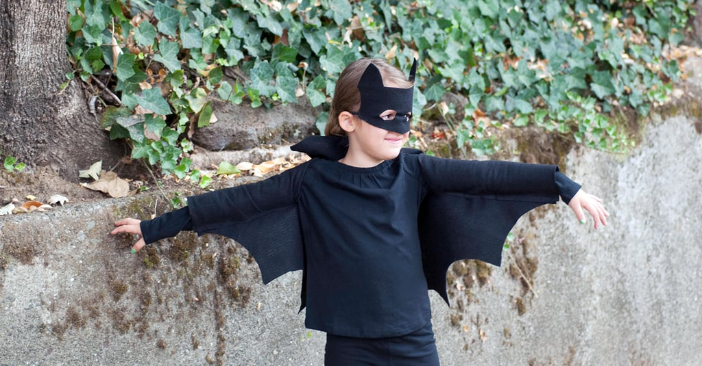 DIY Halloween Bat Costume