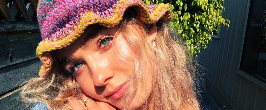 Haley Lu Richardson Makes Crochet Bucket Hats and Scrunchies
