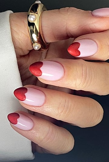 Valentine's Day Nail Art Designs and Manicure Ideas 2021