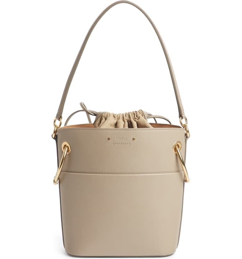 f1dec8b9413349 Chloé Roy Small Leather Bucket Bag | Best Memorial Day Sales and ...