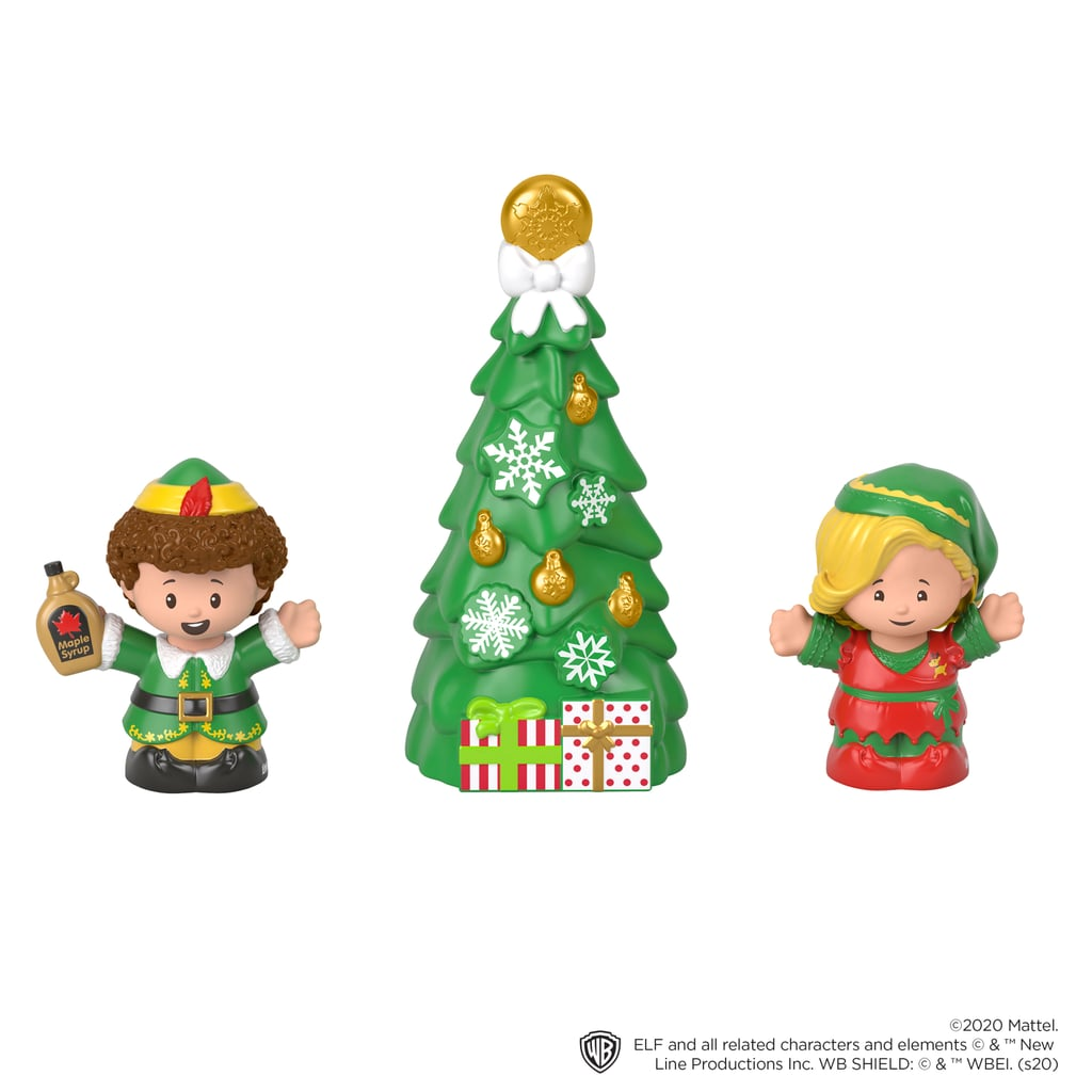 A Closer Look at the Fisher-Price Little People Collector Elf Set