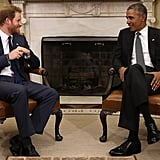 He's gotten closer to Prince Harry than any of us will ever be.