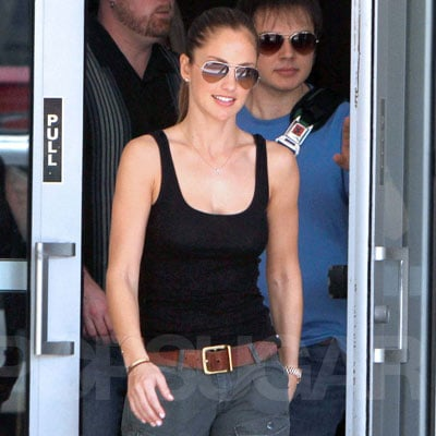 Pictures of Minka Kelly Leaving Hotel in Florida