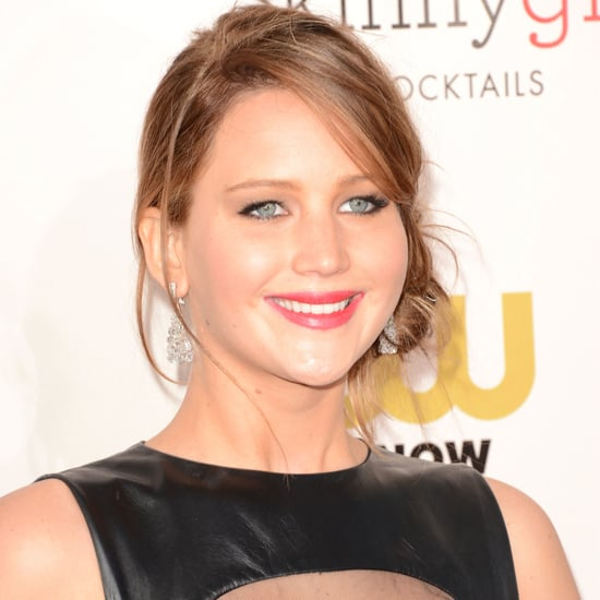 Jennifer Lawrence in Prabal Guring at Critics Choice Awards