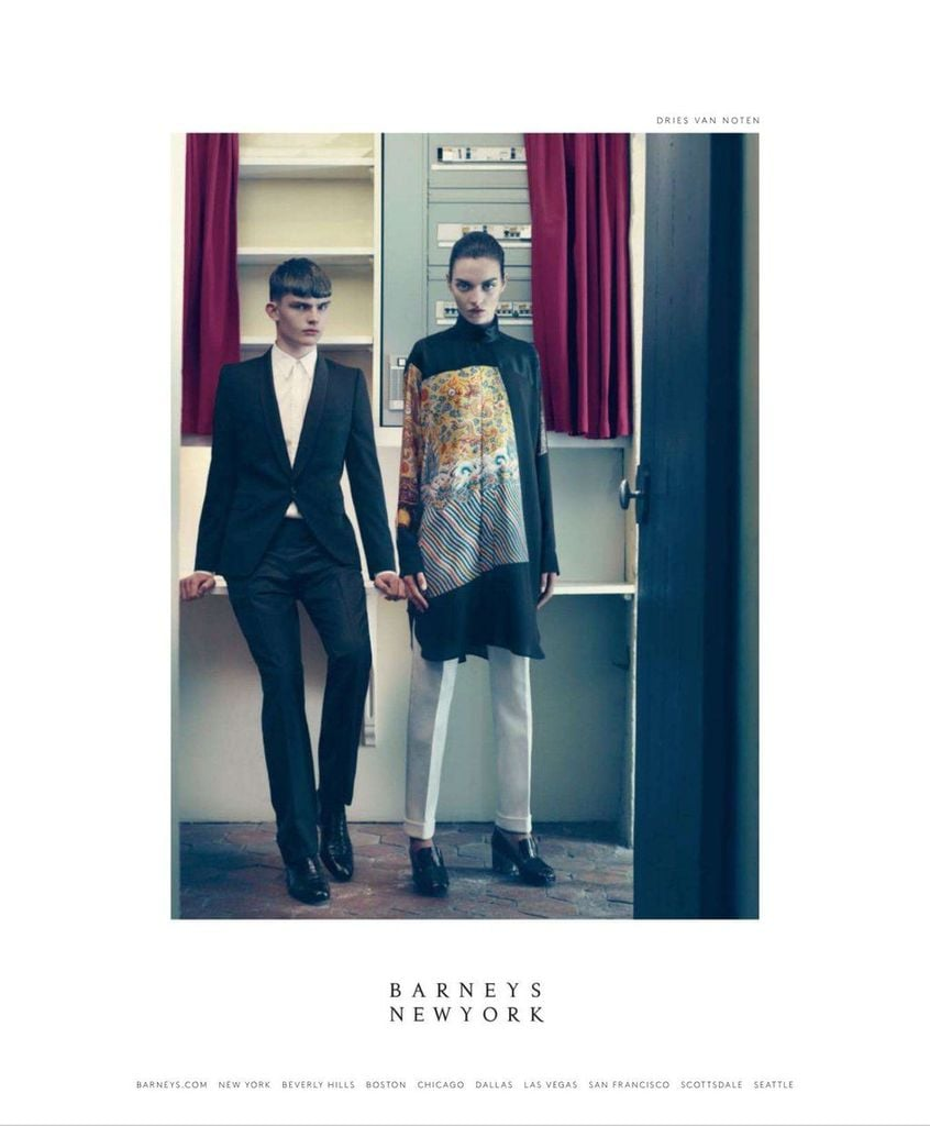 Barneys New York Fall 2012 Ad Campaign