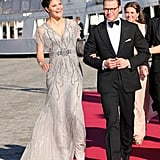 Princess Victoria Glows in Metallics