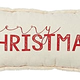 Merry Christmas Pillow ($18)