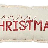 Merry Christmas Pillow ($18)