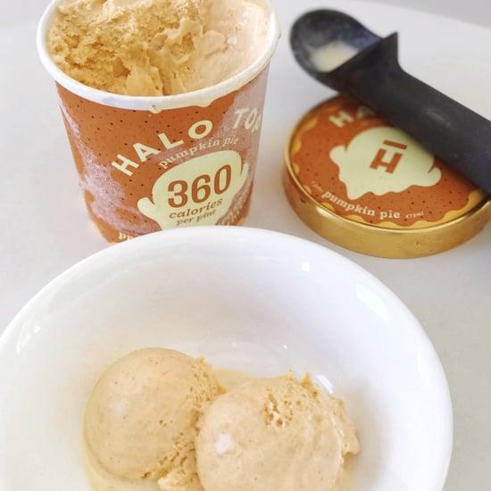 Halo Top Pumpkin Pie Healthy Ice Cream