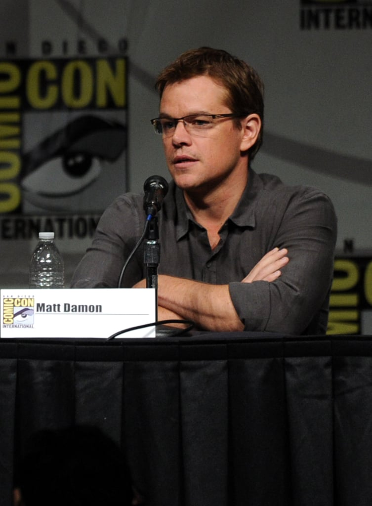 Matt Damon promoted Eylsium.