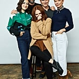 Abby Quinn, Bart Freundlich, Julianne Moore, Billy Crudup, and Michelle Williams