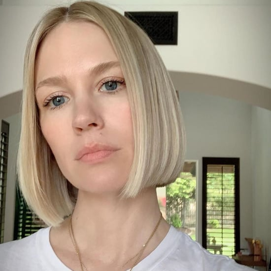 January Jones Bob Haircut 2019
