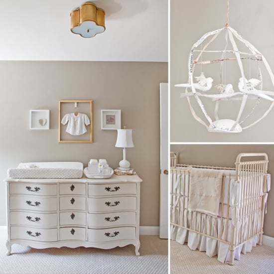 A Serene, Dreamy Nursery For Twins