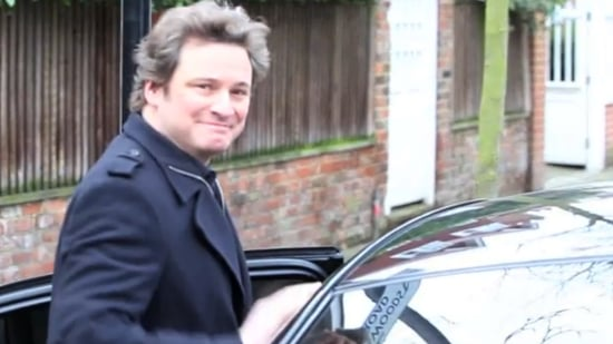 Video of Colin Firth After Oscar Nominations