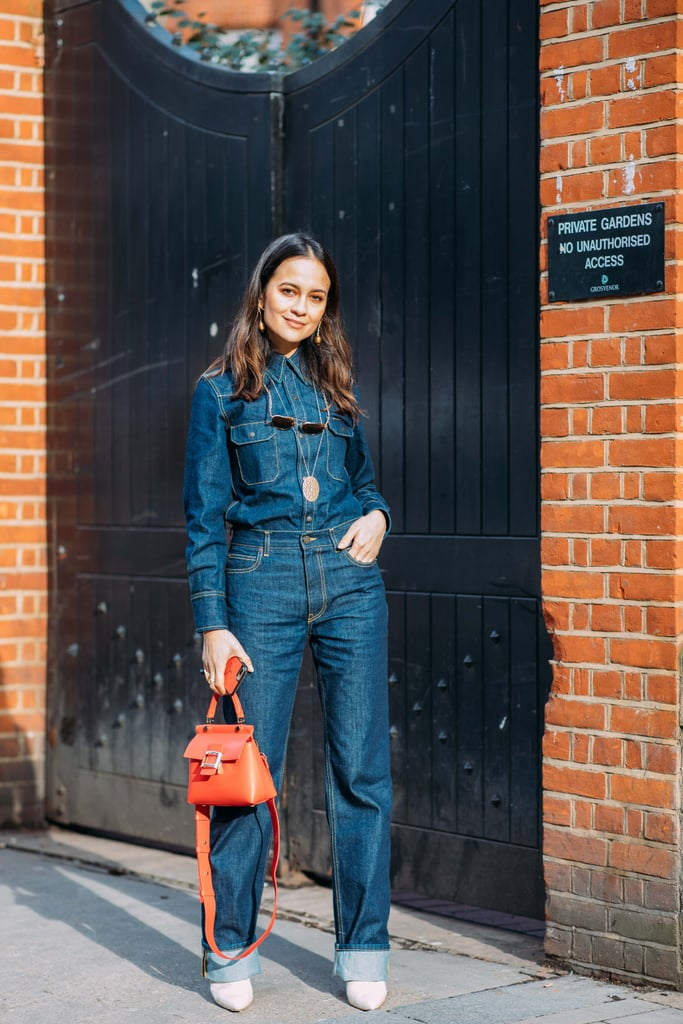 Street Style At London Fashion Week Fall 2018 Popsugar