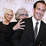 Amy Poehler, Jane Aronson and Will Arnett got playful on the red carpet.