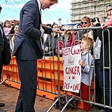 See? Even Harry got a huge kick out of his sign.