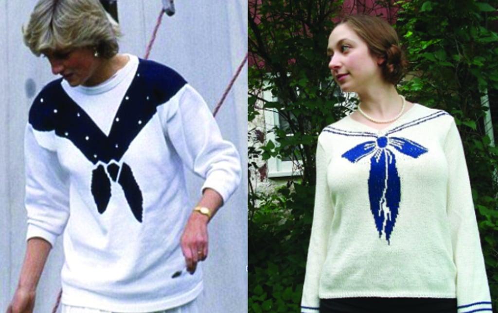 Princess Diana Sailor Jumper Knitting Pattern