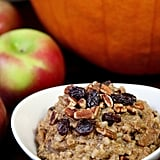Vegan: Slow Cooker Pumpkin Pie Oats