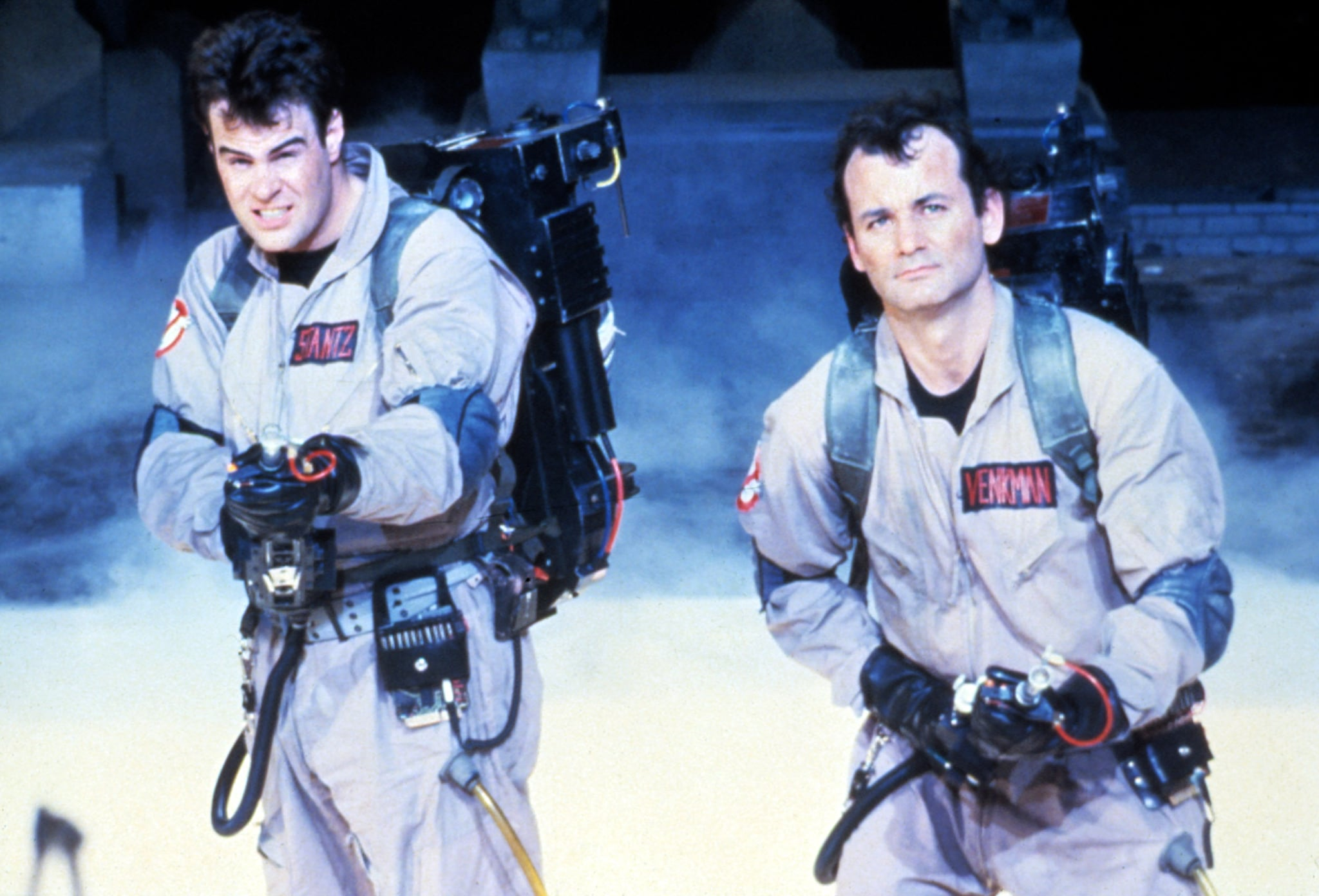 GHOSTBUSTERS, Dan Aykroyd, Bill Murray, 1984.