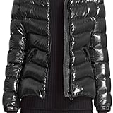 Moncler Anthia Water Resistant Shiny Nylon Hooded Down Puffer Jacket ($1,180)