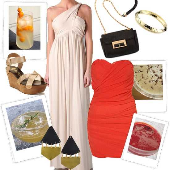 Spring Cocktail Party Outfits Inspired by YumSugar Cocktails