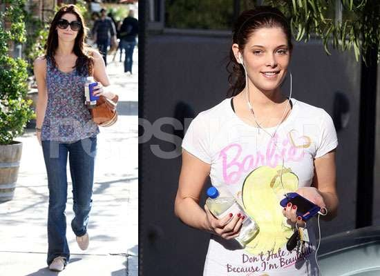 Photos of Ashley Greene at the Gym News About Ashley Greene New Role in Thriller The Apparition Opposite Sebastian Stan