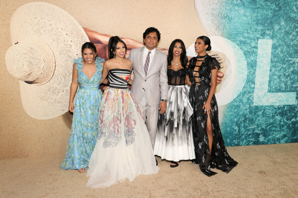 M. Night Shyamalan Brings His Daughters to Old Premiere