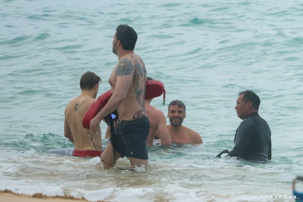 Ben Affleck Shirtless In Hawaii March 2018 Popsugar