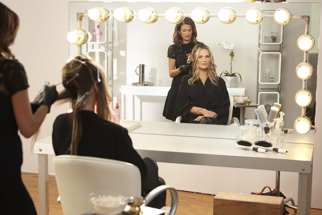 Aura Working On Mollys Hair Molly Sims Red Hair Color Change With