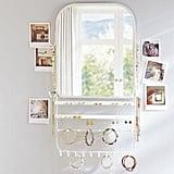 Over The Door Jewelry Organizer Mirror