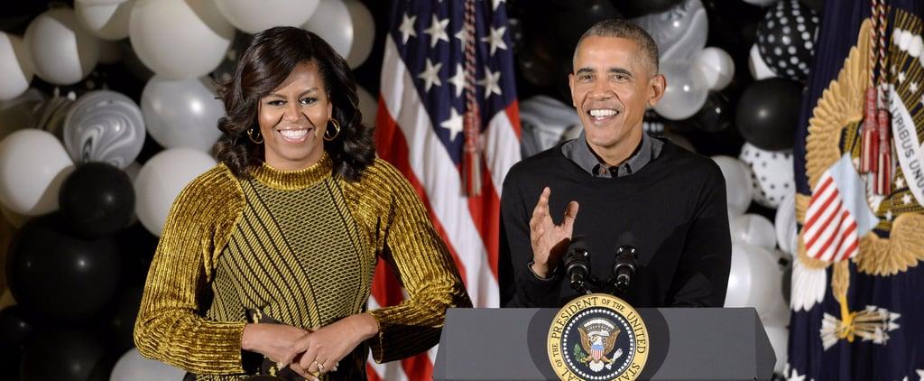 Michelle Obama 3.1 Phillip Lim Sweater Halloween 2016
