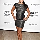 Lea Michele attended a 2009 PaleyFest event in a sleek, skintight minidress.
