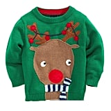 Rudolph Reindeer Red Nose Sweater