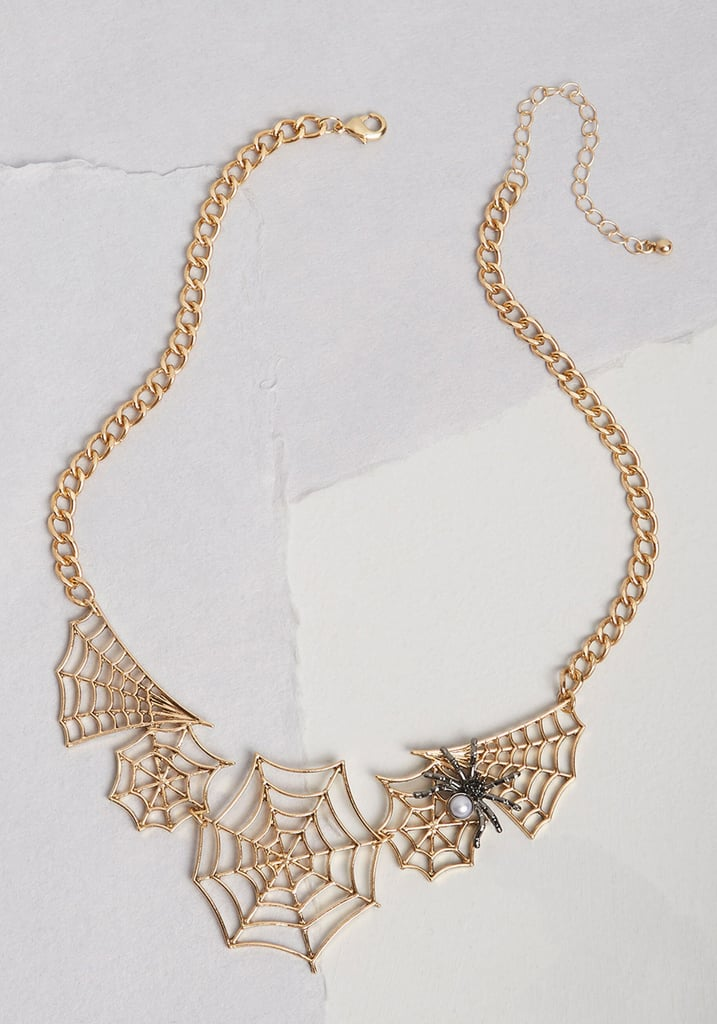 Caught You Statement Necklace