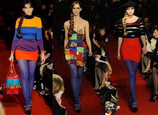 PPQ Autumn 2009 at London Fashion Week, Daisy Lowe, Alice Dellal
