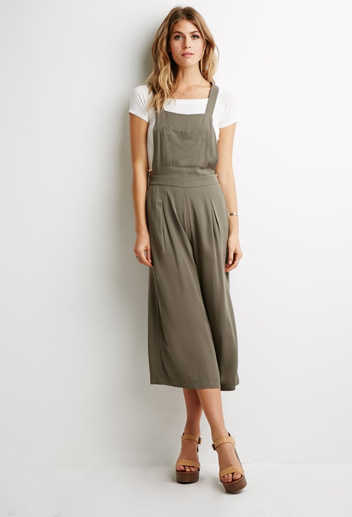 Forever 21 Pleated Wide-Leg Overalls ($28)