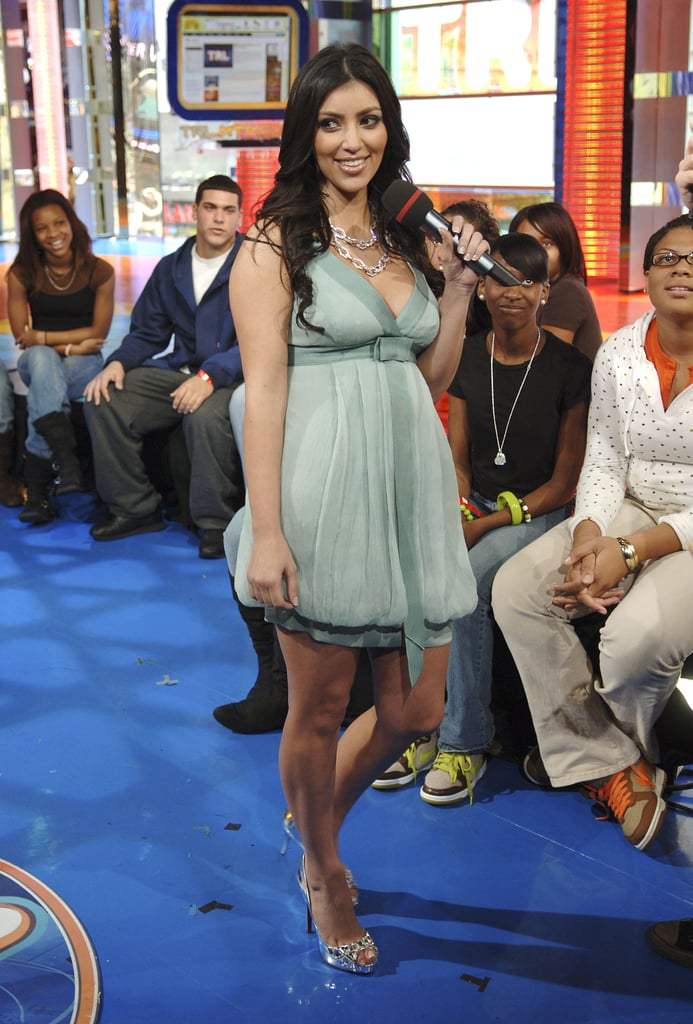 She made an appearance on MTV's TRL at its NYC studio in November 2007.