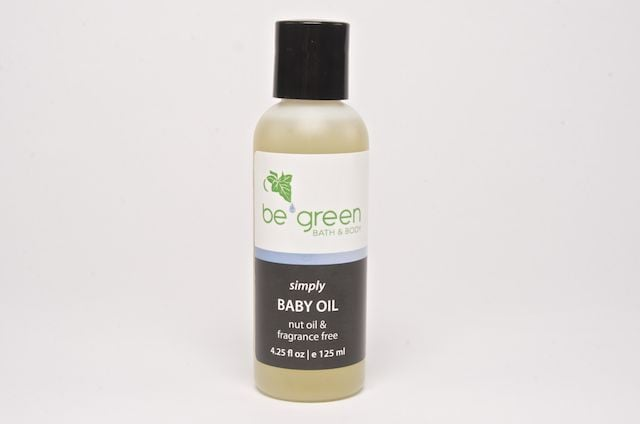 Be Green Bath & Body Simply Baby Oil ($15)
