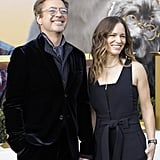 Robert Downey Jr. and Susan Downey at the Dolittle Premiere in LA