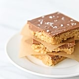 Sweet and Salty No-Bake Peanut Butter Bars
