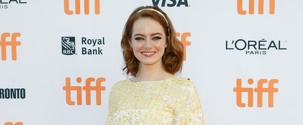 If Emma Stone Told Us She Stole This Look From Mad Men, We'd Believe Her