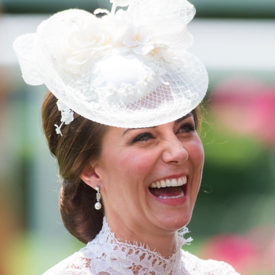 The Duchess of Cambridge Giggling at Royal Ascot
