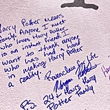 """Harry Potter means family. Anyone I meet who loves Harry Potter is an instant friend."""