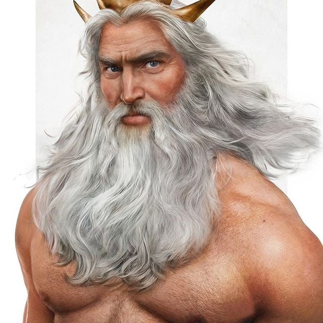 This Artist Created Realistic Portraits of Disney Dads, and OMG, King Triton!