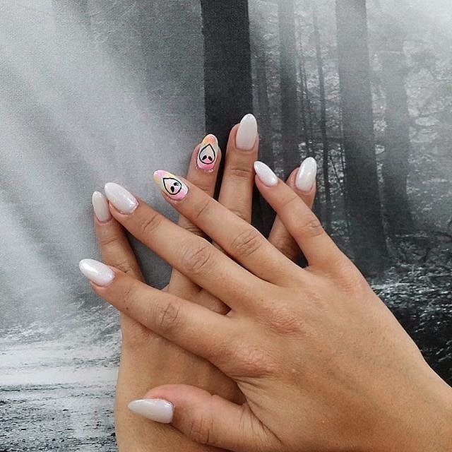 Horror Movie Nail Art Inspiration Popsugar Beauty