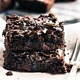Vegan Dark Chocolate Salted Brownies