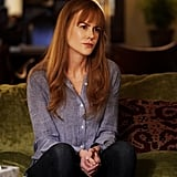 Nicole Kidman as Celeste Wright in a chambray top and jeans.
