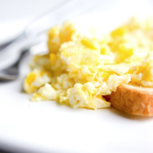 How to Make Fluffy Scrambled Eggs