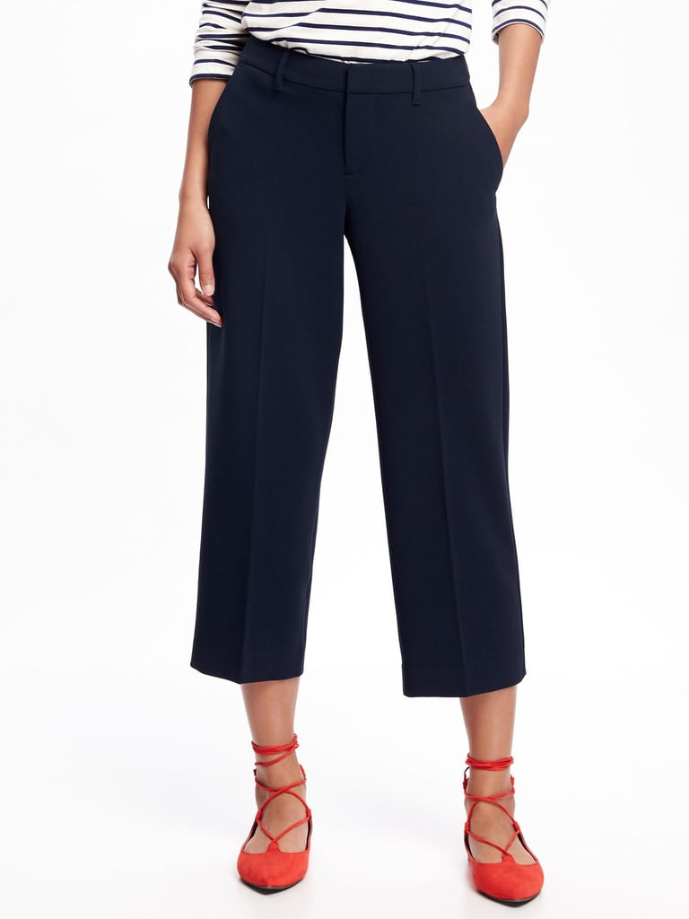 Cropped Pants That Are Work-Appropriate